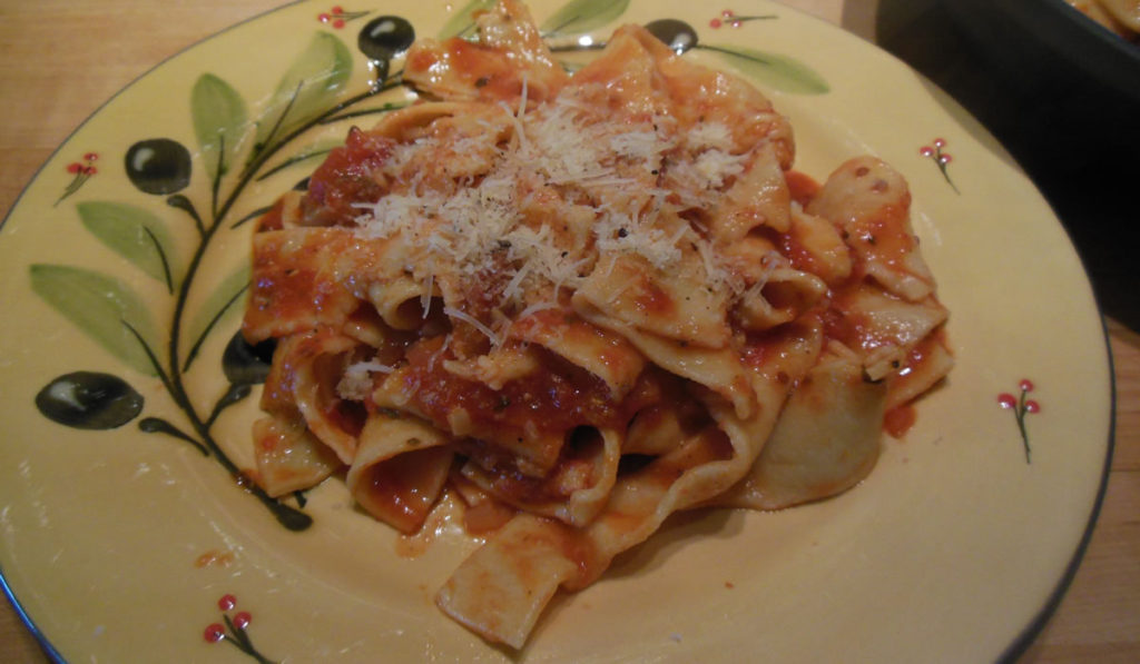 Papardelle with Guanciale