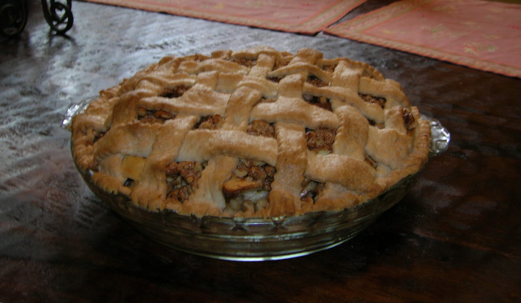 Silver Palate Sour Cream Apple Pie