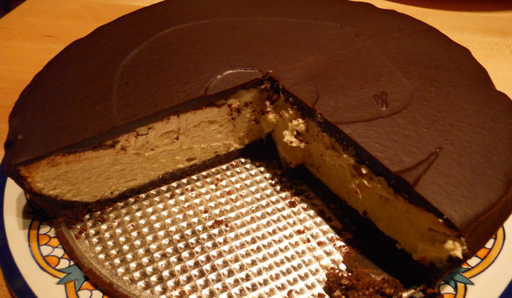 World's Greatest Cheesecake with Chocolate Ganache