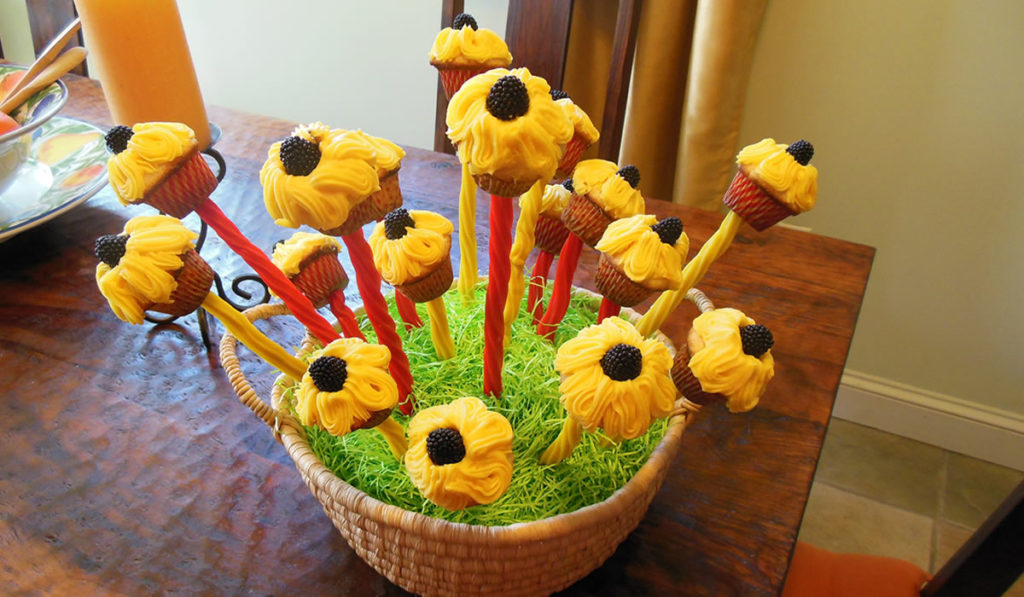 Betty's Sunflower Bouquet