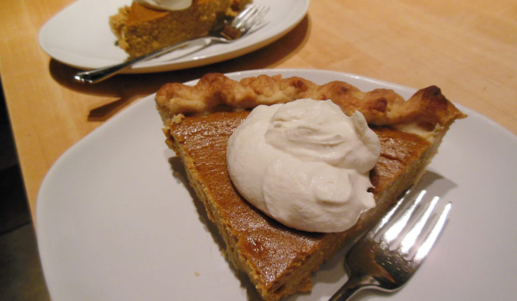 Pumpkin Ricotta Pie