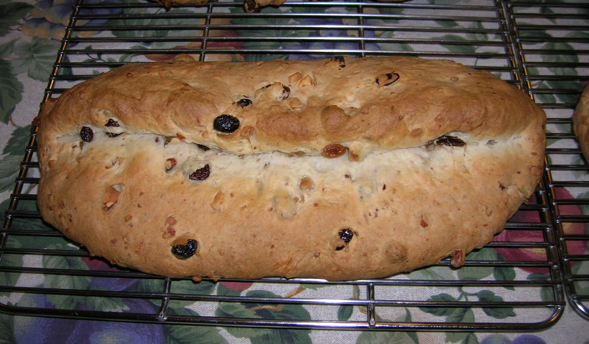 Oma's Christmas Stollen
